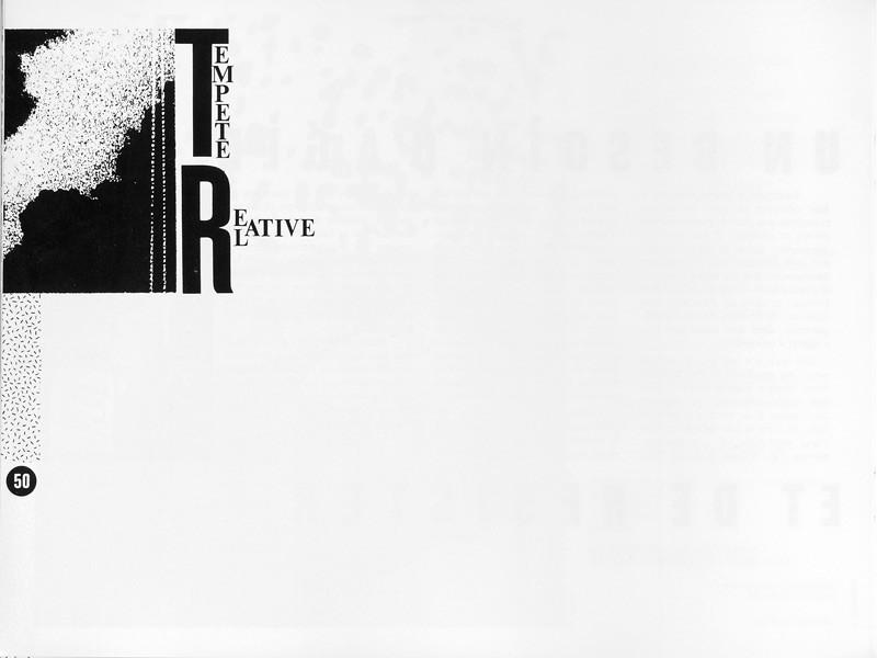 SECTION: Tempête relative, Ciel variable 1, p.50. © Tous droits réservés