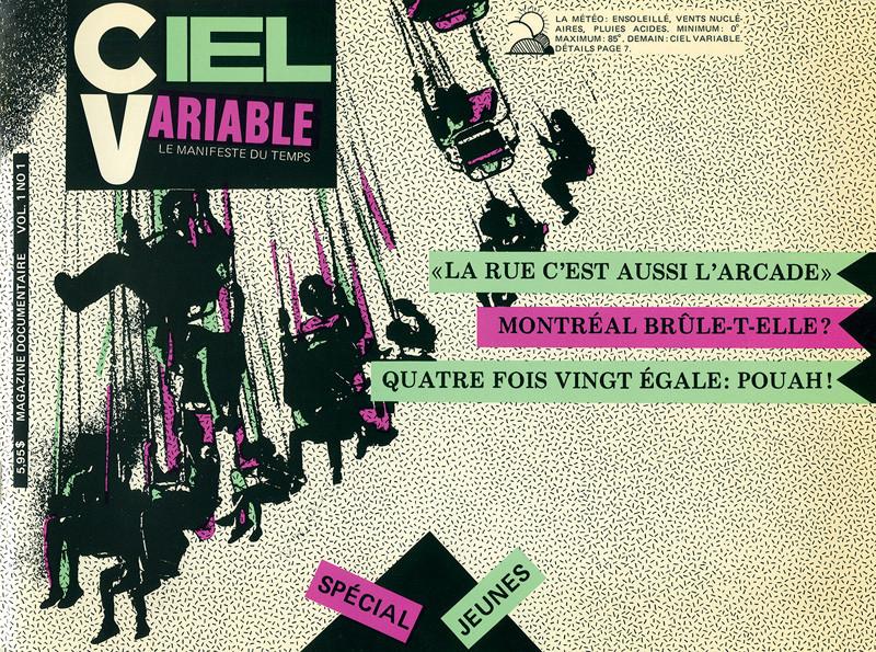 Cover, Ciel variable 1. © Tous droits réservés