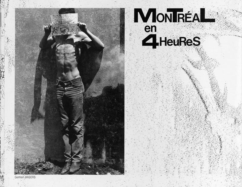 Photo: Germain Angers, Michel Lefebvre, Montréal en 4 heures, Ciel variable 2, p.10. © Tous droits réservés