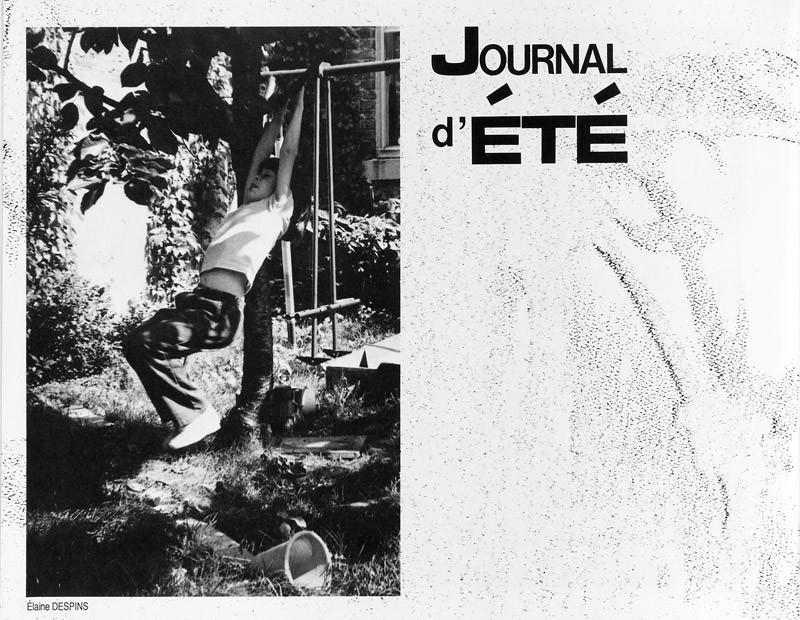 Photo: Élaine Despins, Eva-Marie Newmann, Journal d'été, Ciel variable 2, p.18. © Tous droits réservés