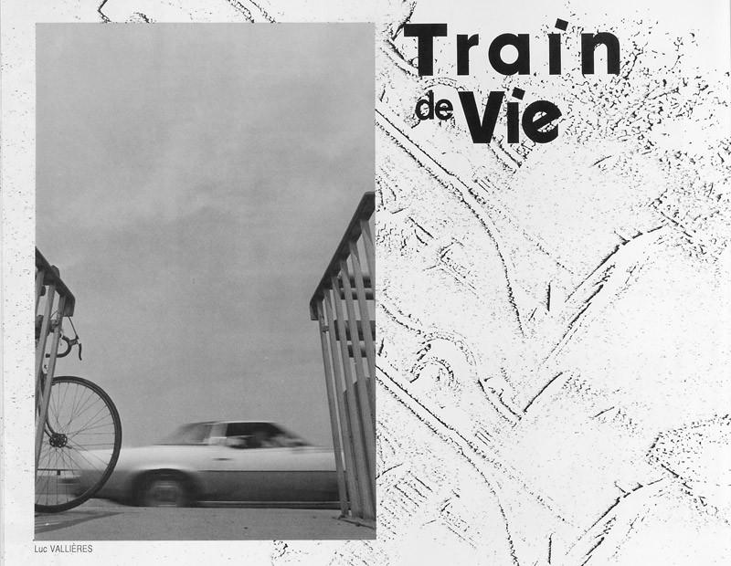 Photo: Luc Vallières, Train de vie, Ciel variable 2, p. 22. © Tous droits réservés