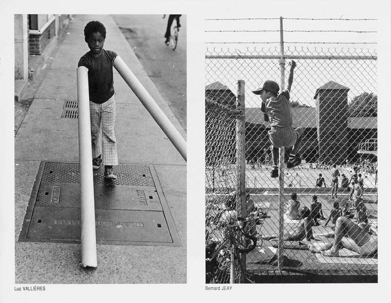 Photo: Luc Vallières / Bernard Jeay, Des enfants et des grilles, Ciel variable 2, p.31. © Tous droits réservés