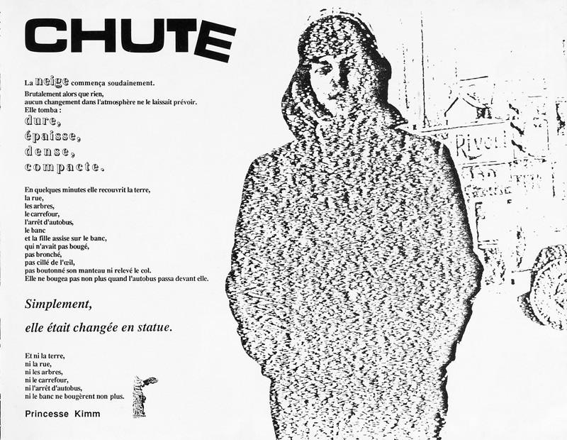 Chute, Ciel variable 2, p.37. © Tous droits réservés