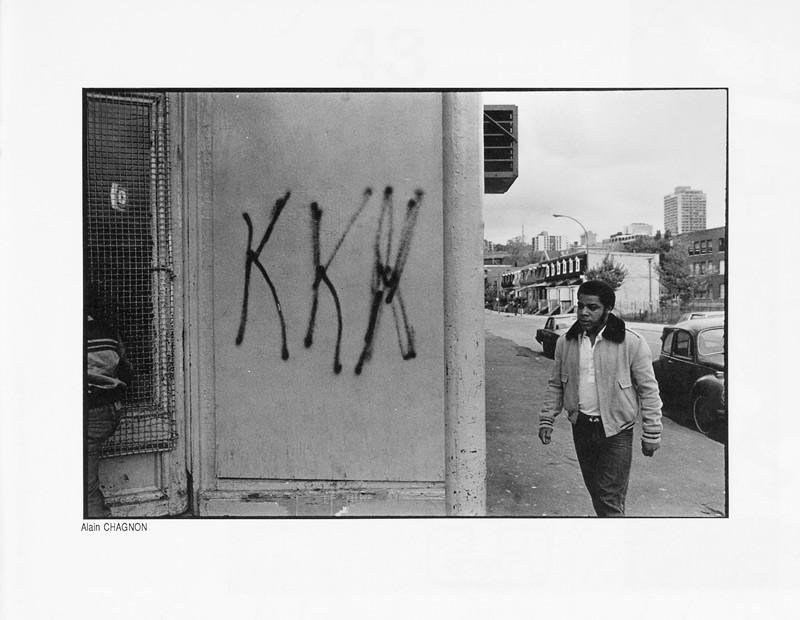 Photo: Alain Chagnon, Jours sombres, Ciel variable 2, p.41. © Tous droits réservés