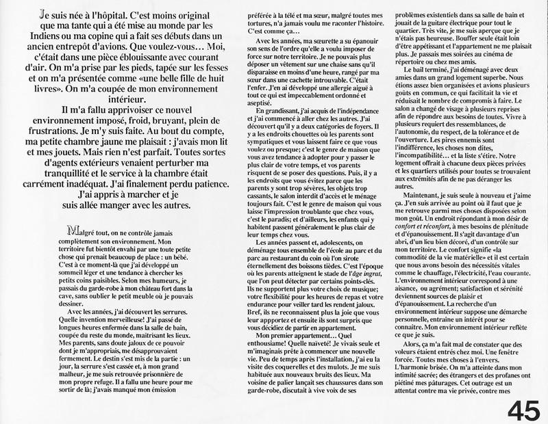 Nicole Simon, Umwelt, Ciel variable 2, p.45. © Tous droits réservés