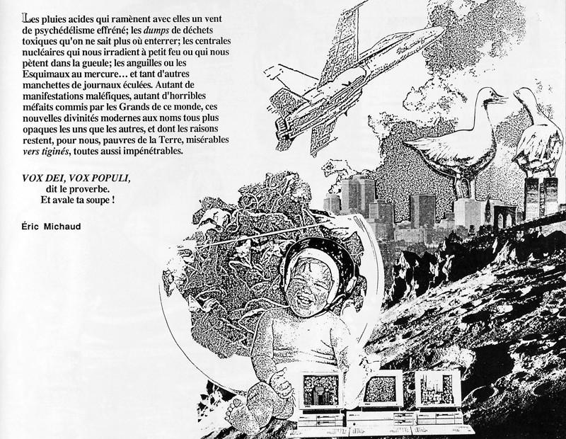 Éric Michaud, Fin de partie, Ciel variable 2, p.57. © Tous droits réservés