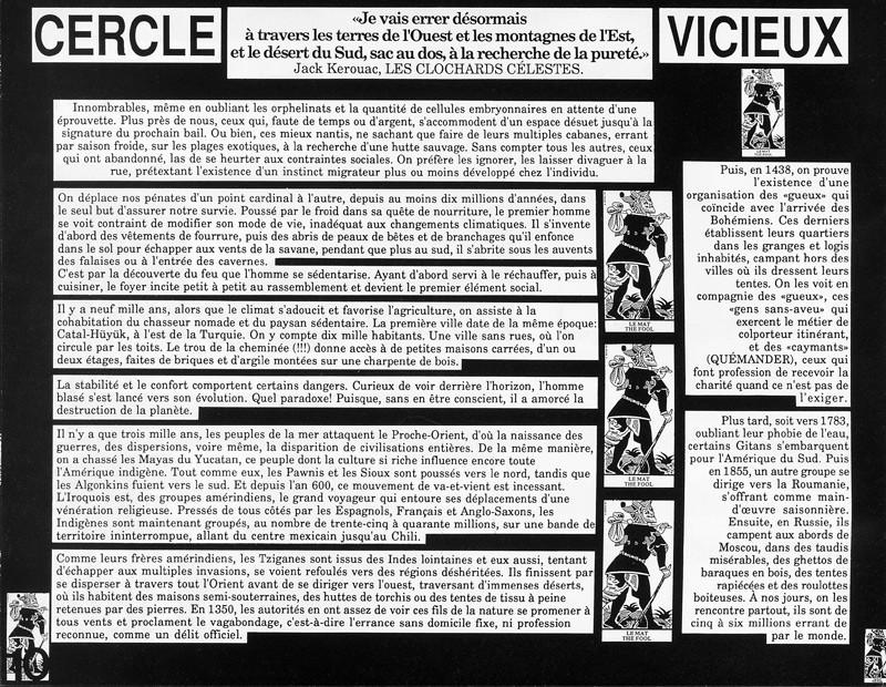 Diane Morin, Cercle vicieux, Ciel variable 3-4, p.10. © Tous droits réservés
