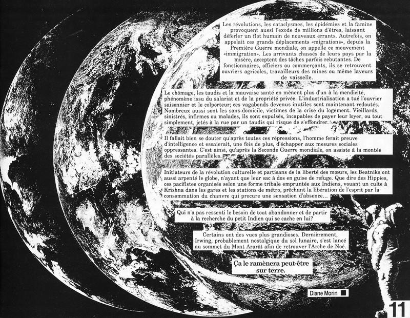 Diane Morin, Cercle vicieux, Ciel variable 3-4, p.11. © Tous droits réservés