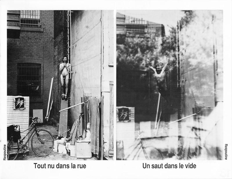 Photo: Raspoutine (Marc Dutin), Sans titre, Ciel variable 3-4, p.19. © Tous droits réservés
