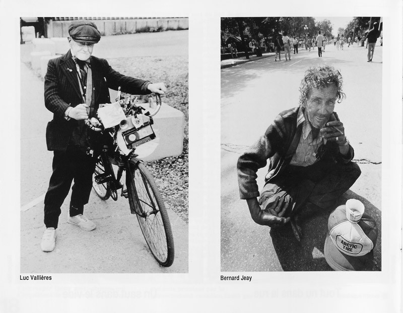 Photo: Luc Vallières / Bernard Jeay, Sans titres, Ciel variable 3-4, p.20. © Tous droits réservés