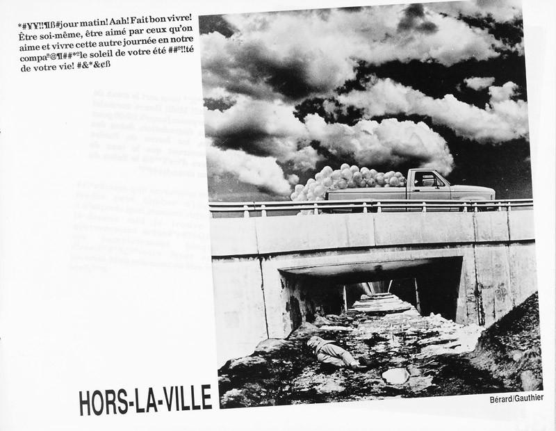 Bérard et Gauthier, Hors-la-ville, Ciel variable 3-4, p.37. © Tous droits réservés