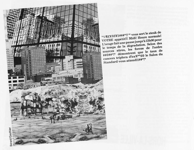 Bérard et Gauthier, Hors-la-ville, Ciel variable 3-4, p.38. © Tous droits réservés