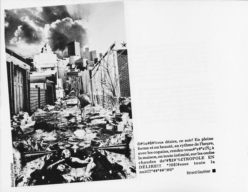 Bérard et Gauthier, Hors-la-ville, Ciel variable 3-4, p.40. © Tous droits réservés