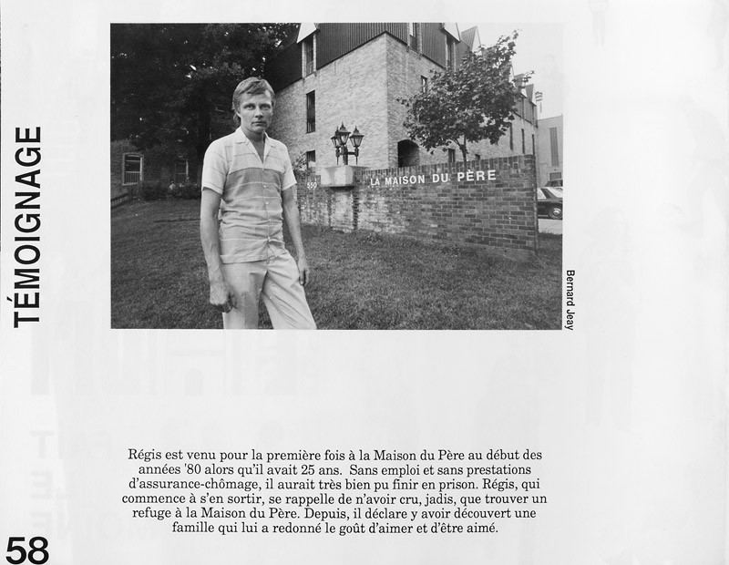 Photo: Bernard Jeay. Témoignages, Ciel variable 3-4, p.58. © Tous droits réservés