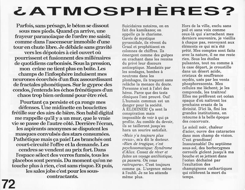 Robert Gauthier, Atmosphères, Ciel variable 3-4, p.72. © Tous droits réservés