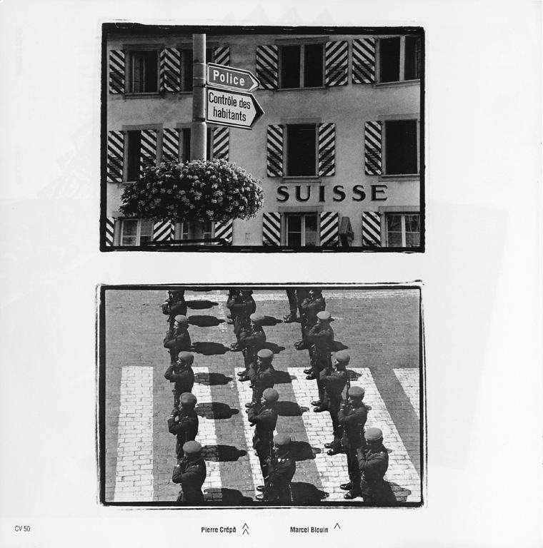 Pierre Crépô / Marcel Blouin, Sans titres, Ciel variable 05, p.50. ©Tous droits réservés
