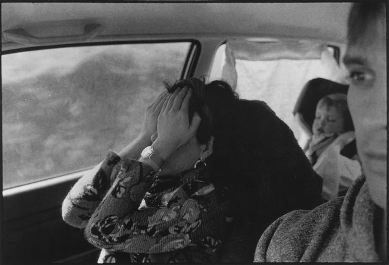 Bertrand Carrière, En route pour Disraeli. © Bertrand Carrière
