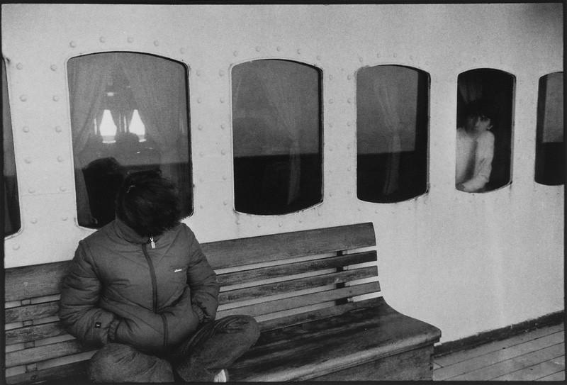 Bertrand Carrière, Sur la Manche entre Dunkerque et Douvres © Bertrand Carrière