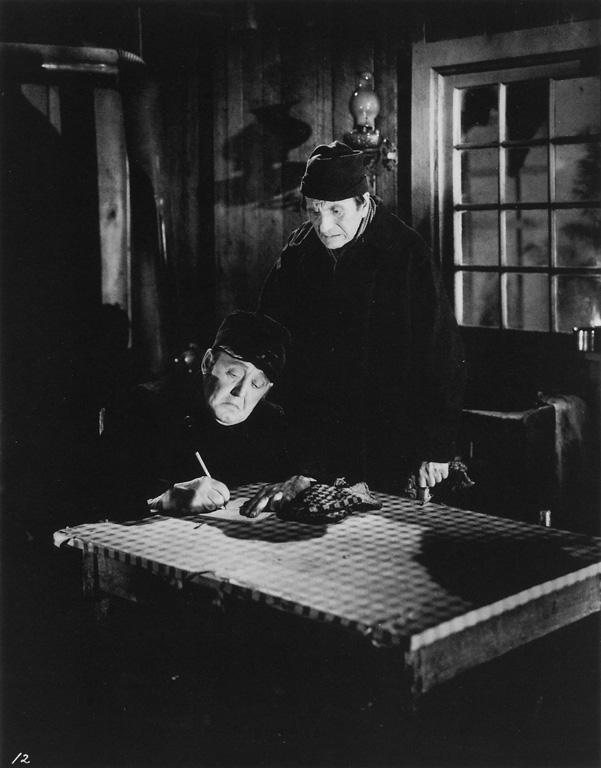 Roméo Gariépy, Eugène Daignault et Hector Charland: Un homme et son péché, 1948. ©Roméo Gariépy