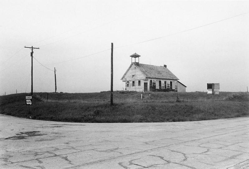 Marc-Antoine Daudelin, Route 120, Kansas, de la série Errances américaines, 1990. ©Marc-Antoine Daudelin