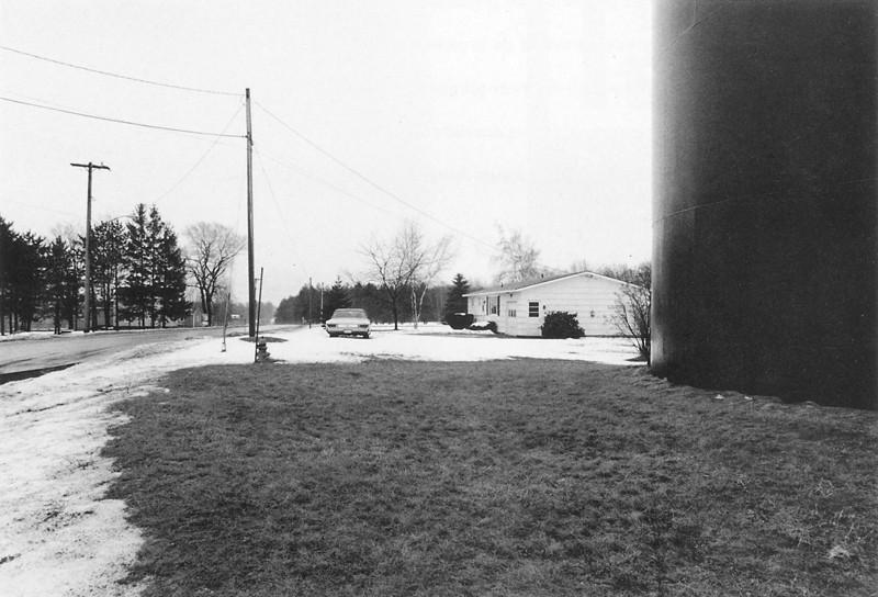 Marc-Antoine Daudelin, Route 104, État de N.Y., de la série Errances américaines, 1989. ©Marc-Antoine Daudelin