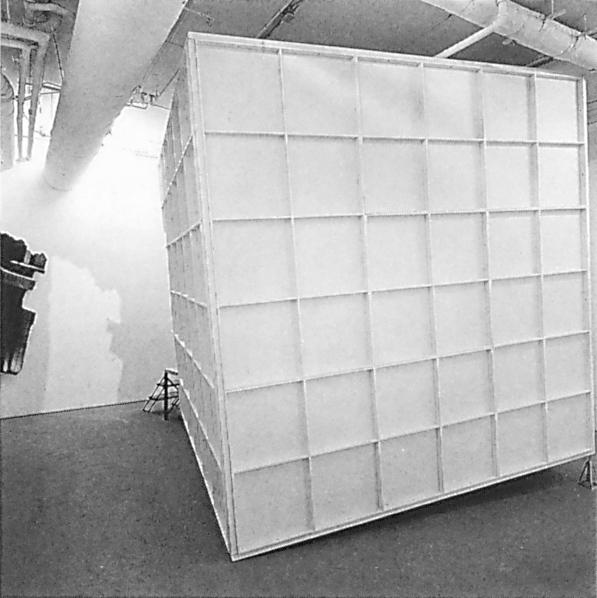 Alain Paiement, Vue de l'installation Chantier / Building Sight, 1991. ©Alain Paiement
