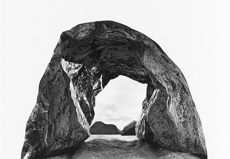 Lucie Lefebvre, Grotte, 1986, original en couleurs, 82 x 60 cm. ©Lucie Lefebvre