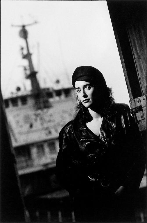 Jean-François Bérubé, Geneviève Rioux, 1990. © Jean-François Bérubé