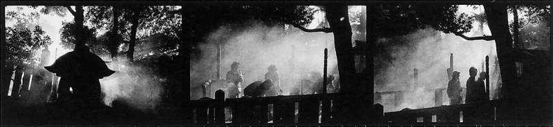 Ken Straiton, Temple Sengakuji, 1987. © Ken Straiton