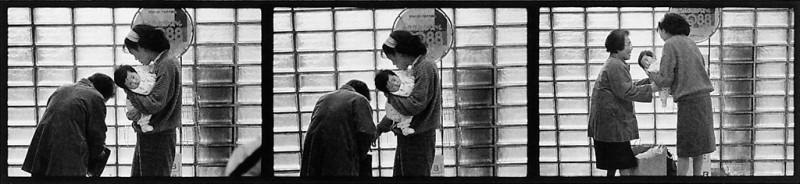 Ken Straiton, Scène à la station Shibuya, 1988 © Ken Straiton