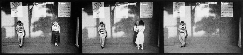 Ken Straiton, Scène de rue, Daikan-Vama, 1986. © Ken Straiton