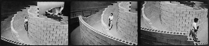 Ken Straiton, Installation, Spiral Building, Omote Sando, 1991. © Ken Straiton