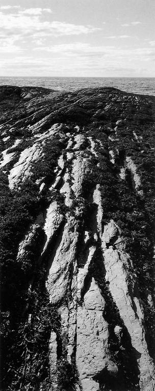 Michel Hébert, La grande strate ou l'anti-panoramique, 1992. © Michel Hébert