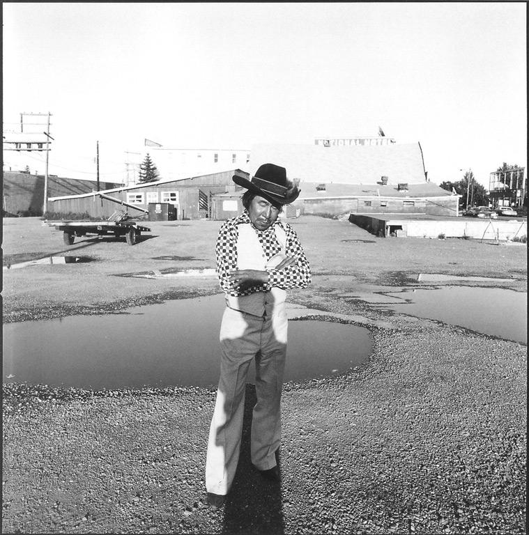 George Webber, Danny Frazer, Calgary, Alberta, 1985. © George Webber