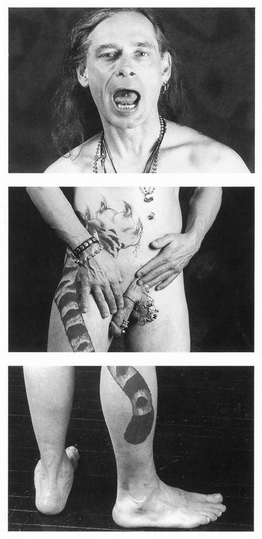 Linda Dawn Hammond, Sans titres, triptyques de la série Three Part Body, épreuves argentiques. © Linda Dawn Hammond