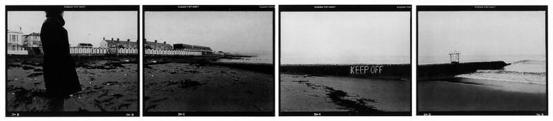 Richard Baillargeon, Sans titres avec ou sans textes (de la série Champs / la mer), épreuves argentiques. © Richard Baillargeon