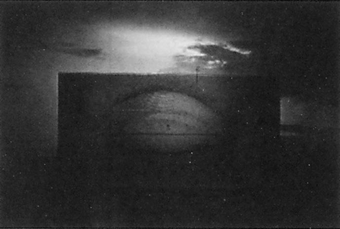 Sylvie Readman, Mirare (diptyque), 1993, émulsions photographiques, 263 x 158.3 cm. © Sylvie Readman