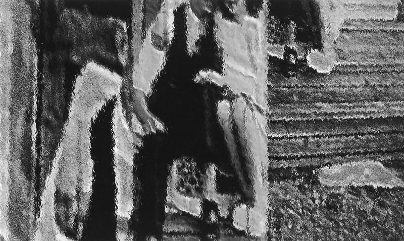 Carol Dallaire, Sans titre, de la série Le Complet bleu ou l'apparence des choses qui ne sont pas des sons. ©Carol Dallaire