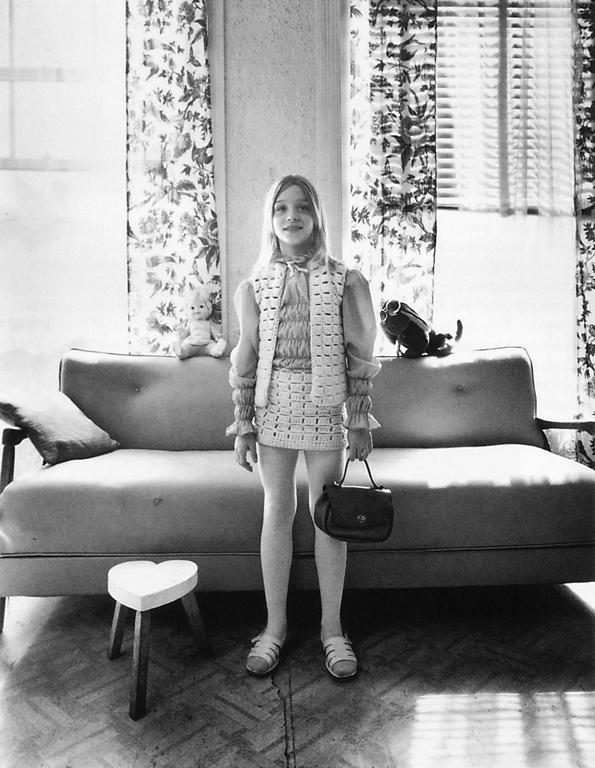 Clara Gutsche, Susie St-Jacques (de la série Milton Park), 1972, épreuve argentique. ©Clara Gutsche/SODRAC (2010)