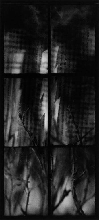 Randy Koroluk, Storm, 1994, 104 x 48.5 cm. ©Randy Koroluk