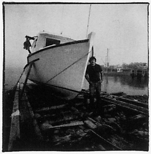 Ron Levine, Sans titre (de la série Maritime Highways), été 1994, épreuve argentique, 27,9 x 35,6 cm. ©Ron Levine
