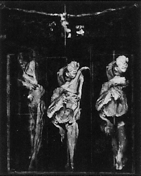 Paul Lowry, Stabat Mater, After the Cantata Délie Cinque Stanze by Giovanna Marini 1992, 36 x 42 cm. ©Paul Lowry