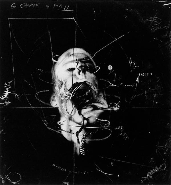 Paul Lowry, Contortio n Study, 1990, 36 x 38 cm. ©Paul Lowry