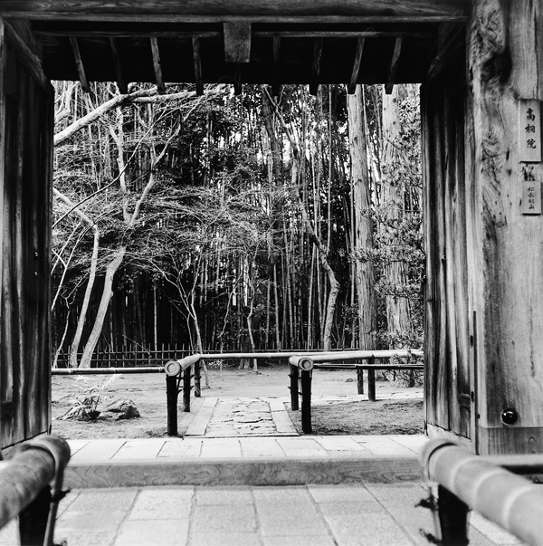 Franck Michel, Koto-in, époque Momoyama, v. 1603, Kyoto, décembre 1994. ©Franck Michel