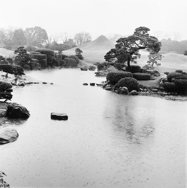 Franck Michel, Joju-en, époque Edo, 1632 (première version), Kumamoto, février 1995. ©Franck Michel