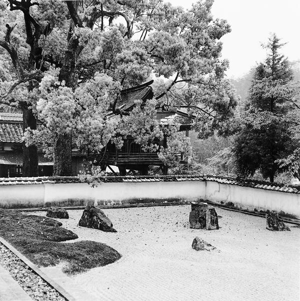 Franck Michel, Joei-ji, époque Muronachi, fin du XVe siècle, Yamagushi, mai 1995. ©Franck Michel