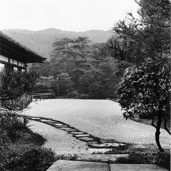 Franck Michel, Konchi-in, époque Edo, 1632, Kyoto, 1994. ©Franck Michel