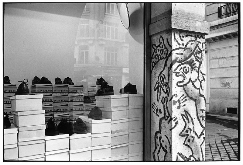 Daniel Kieffer, Rue de la Renarde, Paris 1986. ©Daniel Kieffer