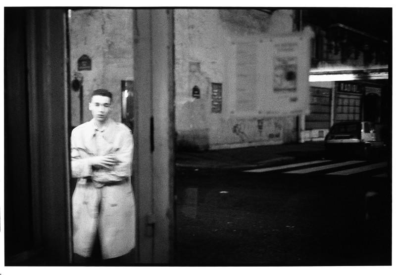 Daniel Kieffer, Café de la Place, Paris, mars 1988. ©Daniel Kieffer