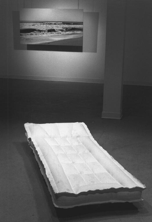 Martine Doyon, Vue de l'exposition de Sarla Voyer, Objet de dérivation. © Photographie : Martine Doyon, 1996